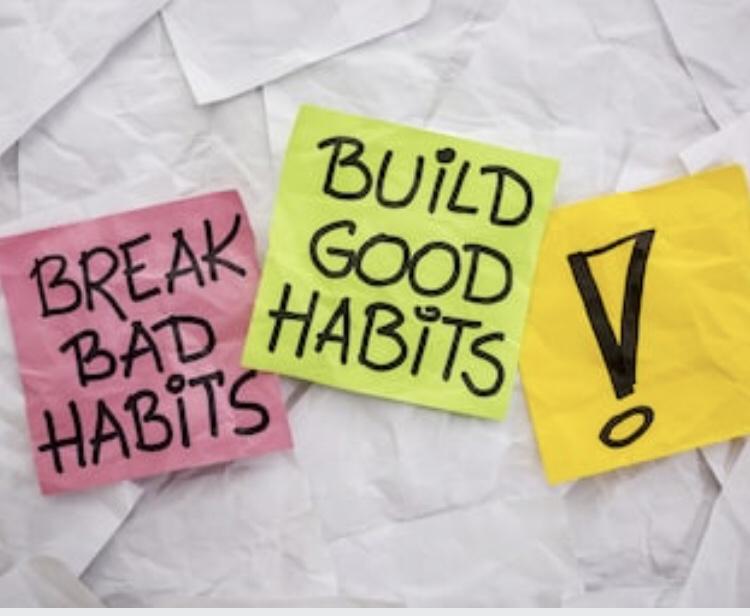 Habits Can Haunt